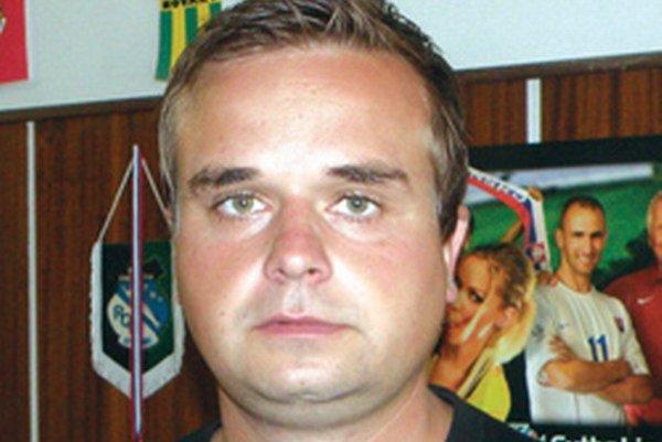Michal Caránek - tréner MFK Topvar Topoľčany.