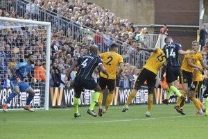 Aymeric Laporte strieľa svoj prvý gól v Premier League, ktorým vyrovnal na 1:1.