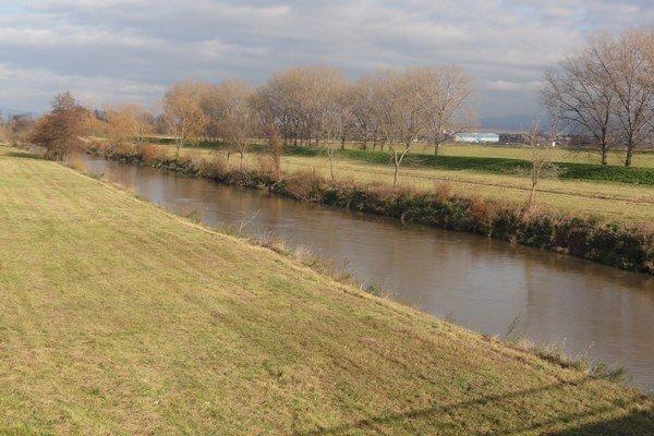 Rieka Nitra.