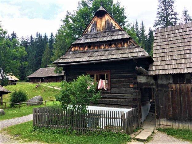 Múzeum oravskej dediny v Zuberci.