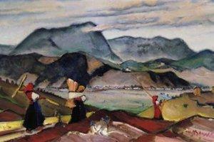 Obrazy Martina Benku patria medzi investičné hodnoty. Na snímke je jeho Pod Mníchom.