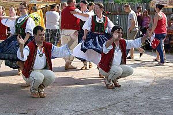 Najväčší záujem bol o folklórne vystúpenia.