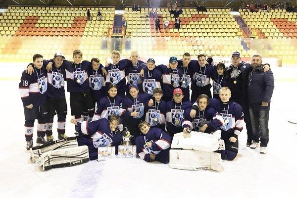 Ôsmaci MMHK Nitra vyhrali turnaj v Martine.