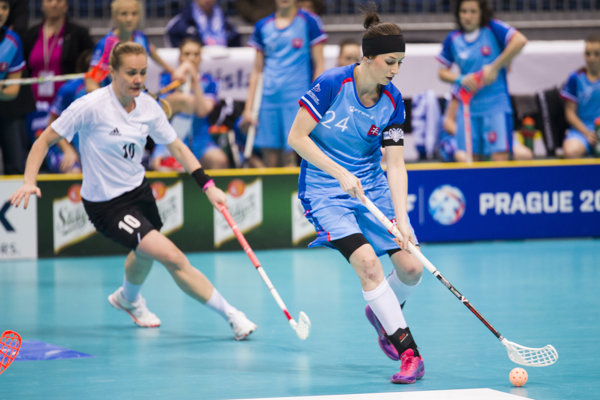 Lucia Košturiaková bola dlhoročnou slovenskou kapitánkou vo florbalovej reprezentácii.
