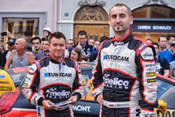Zľava Erik Melichárek aJaroslav Melichárek.