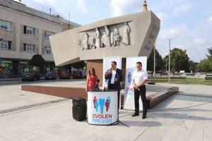 Matej Snopko a Peter Košík dnes oznámili svoje rozhodnutie o kandidatúre na primátora.