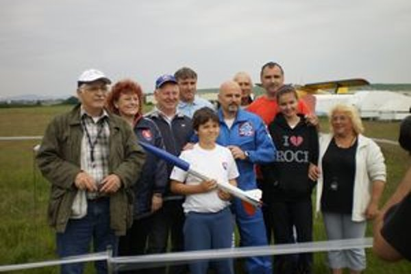 Modelárov navštívil aj prvý slovenský kozmonaut Ivan Bella.