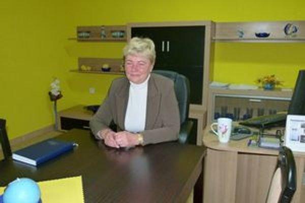 Mária Lachkovičová uvažuje aj o tom, že v obci postaví aj komunitné centrum.
