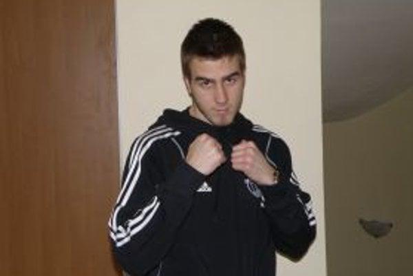 Ľubomír Vnuk - majster Slovenska v boxe.