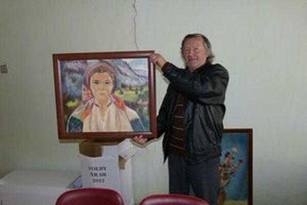 Starosta s dielom Tatiany Turanovej.