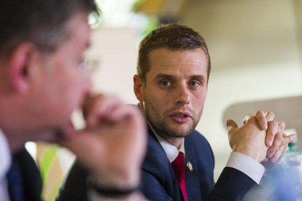 Podpredseda Výboru Národnej rady pre európske záležitosti Martin Klus.