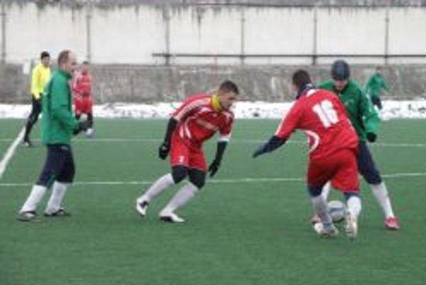 Topoľčany zvíťazili 4:1, jeden gól strelil aj Martin Oršula (v červenom).