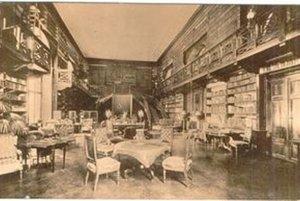 Takto vyzerala Apponyiovská knižnica pred 90 rokmi.