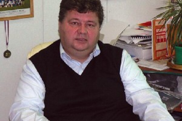 Juraj Soboňa - starosta a predseda OFK Solčany.