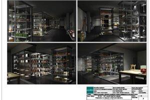 Takto bude vyzerať depozitár v nadzemnom podlaží.