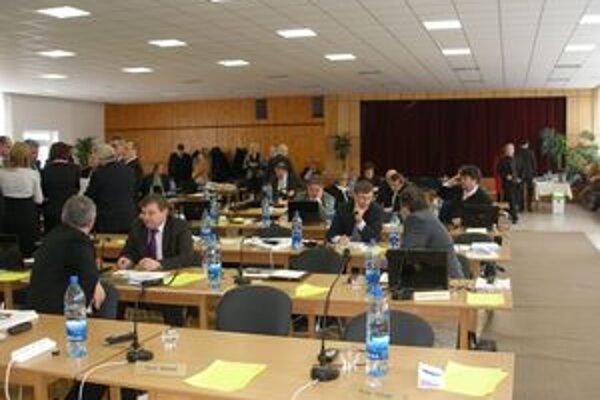 Za zriadenie novej neziskovej organizácie hlasovalo 36 poslancov z 50 prítomných.