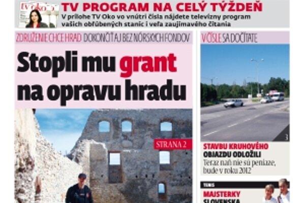 Redakciu nájdete na námestí M. R. Štefánika 5 v Topoľčanoch, kde kúpite noviny iba za 40 centov.