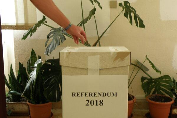 Celková účasť na hlasovaní v referende v Nitrianskom Pravne bola 37,93% oprávnených voličov.