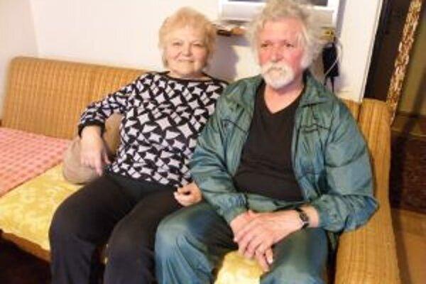Juraj Zemančík s manželkou Sylviou.