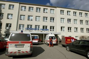 Chirurgický pavilón zvolenskej nemocnice.