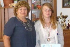 Patrícií Mikolajovej (vpravo) sa na súťaži darilo.