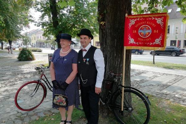 Retro cyklo deň 2018, Sabinov.