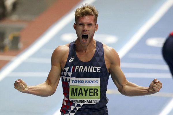 Francúz Kévin Mayer.