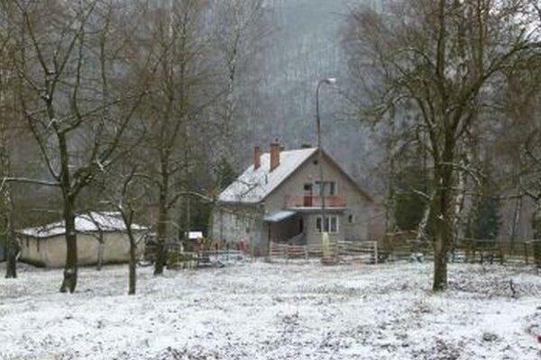 Budúci azylový dom na Dubnej Skale.