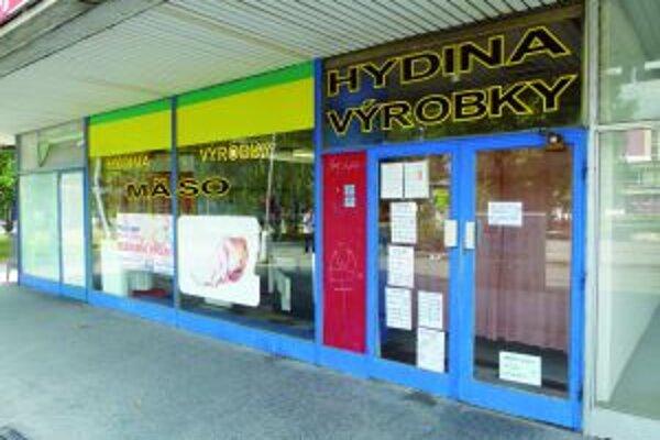 Predajňa vo Fixe bola zatvorená. Čerpali dovolenku.