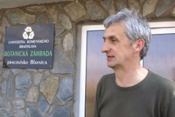 Ján Topercer, ekológ Botanickej záhrady Univerzity Komenského v Blatnici.