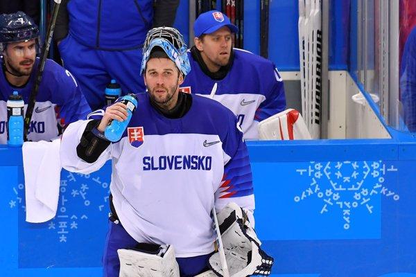 Ján Laco chytal za slovenský tím na olympijských hrách v Pjongčangu 2018.