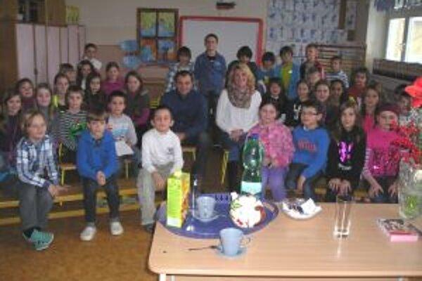 Lucia Klocová porozprávala deťom aj o svojich športových začiatkoch.