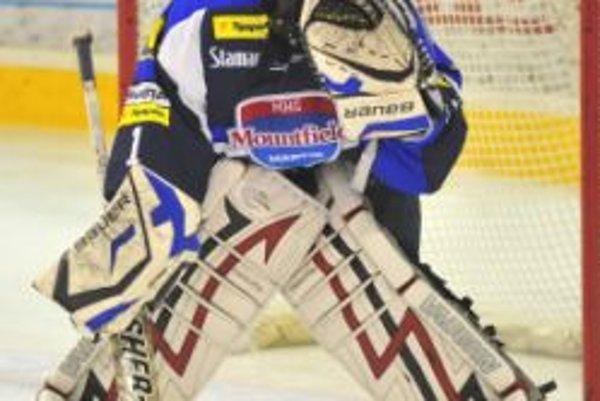 Brankár MHC Martin Šúrek si želá rozprávkový koniec sezóny.