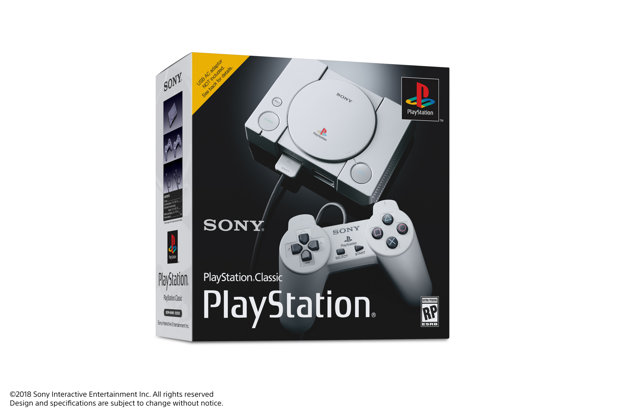 Balenie PlayStation Classic.