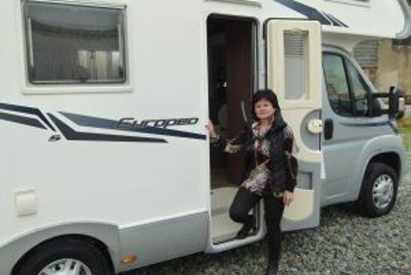 Podnikateľka Tatiana Nátna by si priala, aby sa na Slovensku karavaning viac rozrástol.
