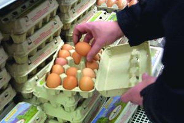Súčasná cena vajíčok vraj nezodpovedá výrobným nákladom.