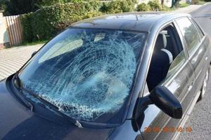 Nehoda sa stala na Kvačalovej ulici.