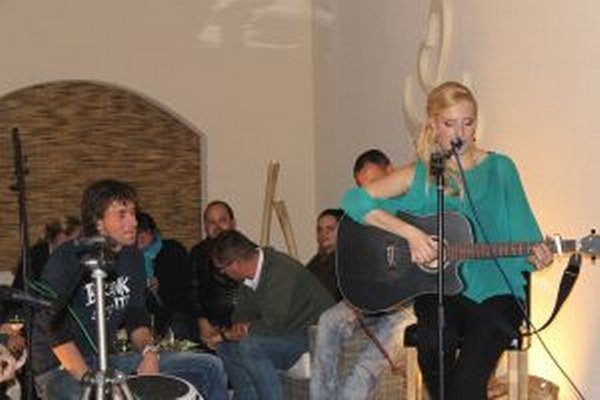 Vystúpenie Kataríny Landlovej sa publiku naozaj páčilo.