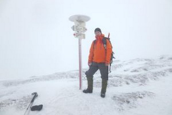 Peter Lauček vystúpil na Goverlu - najvyšší vrch Ukrajiny.