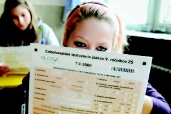 Monitor 9. Testovanie vedomostí deviatakov skončilo na Slovensku horšie ako vlani.