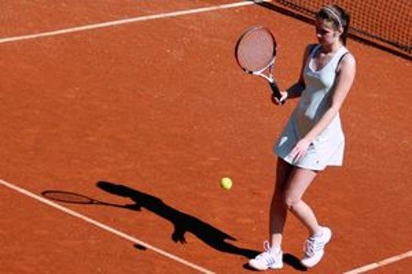 Talentovaná tenistka K. Liptaiová.