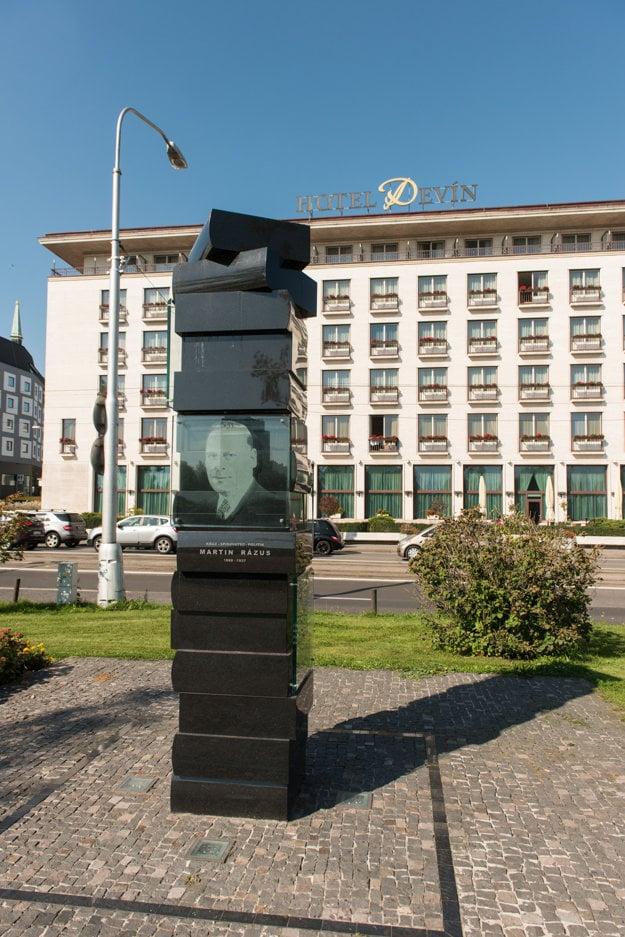 Pomník Martina Rázusa.