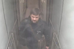 Na videosnímke poskytnutej 5. septembra 2018 je Ruslan Boširov na londýnskom letisku Gatwick.
