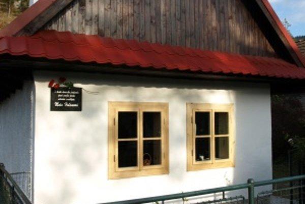 Dom, v ktorom prežila Maša Haľamová jeseň života.