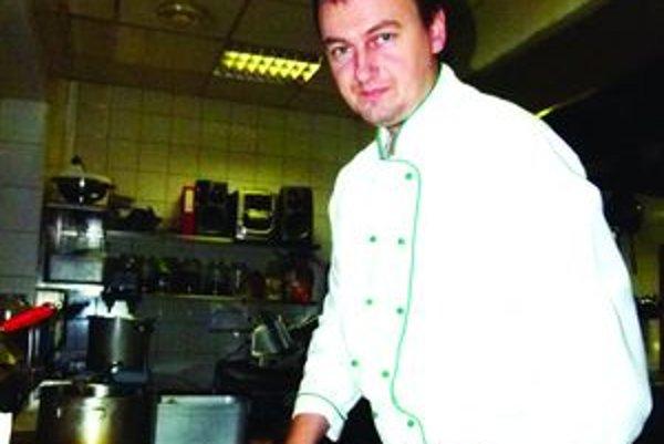 Marek Rapan. Kuchár z martinského hotela Victoria.