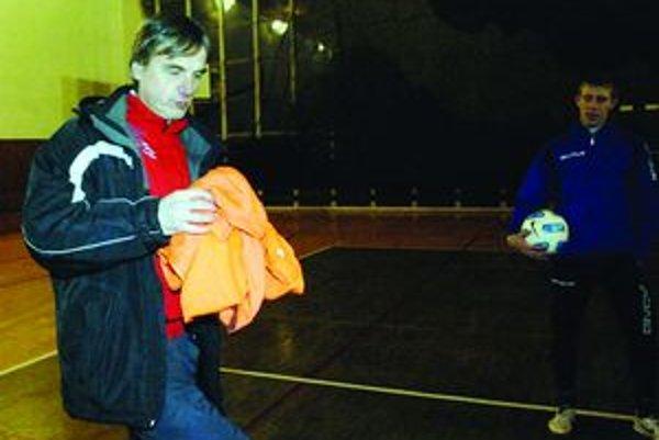 Tréner Mošoviec Ján Tomka je s doterajším priebehom prípravy spojkojný.