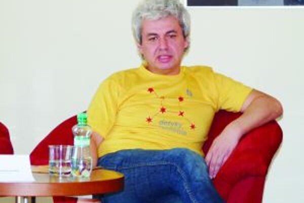 Róbert Mankovecký, programový riaditeľ festivalu Dotyky a spojenia.