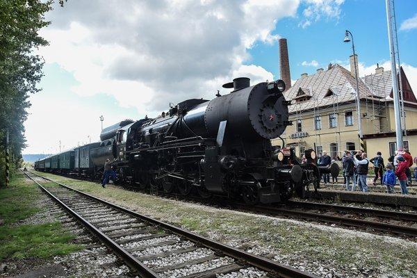 Lákadlom bude určite aj  jazda parným vlakom. ilustračné foto