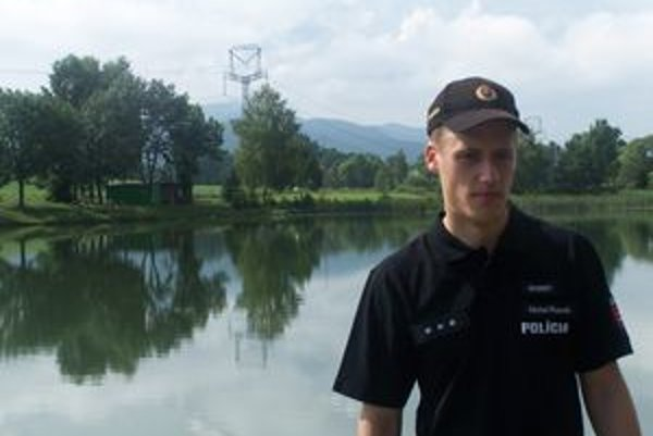 Michal Rusnák z Koštian nad Turcom zachránil mladého muža.