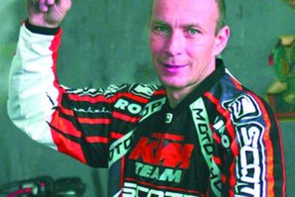 Jaroslav Katriňák je už opäť vo svojom živle.